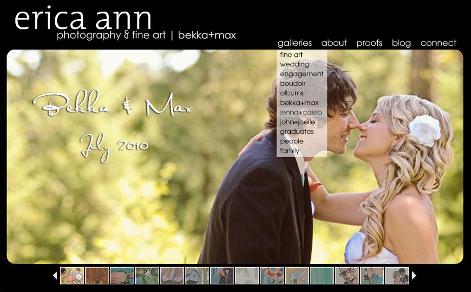 erica ann photography featured wedding