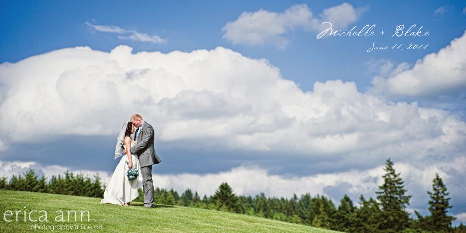 Boise mountain wedding
