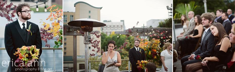 DeSoto Rooftop Wedding - Hotel Vintage Plaza Reception - Portland Oregon Wedding Photographer