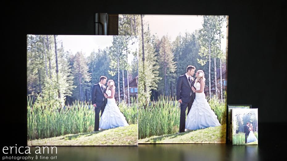 Portland Wedding Photography Flush Mount Album