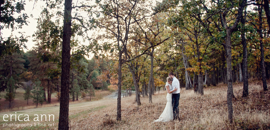 Romantic Bride and Groom The Dalles Ranch Wedding