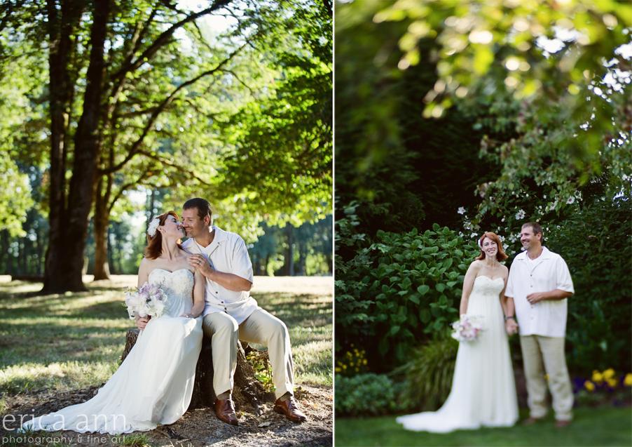 Beautiful Backyard Wedding Luau - Eugene, OR | Blog
