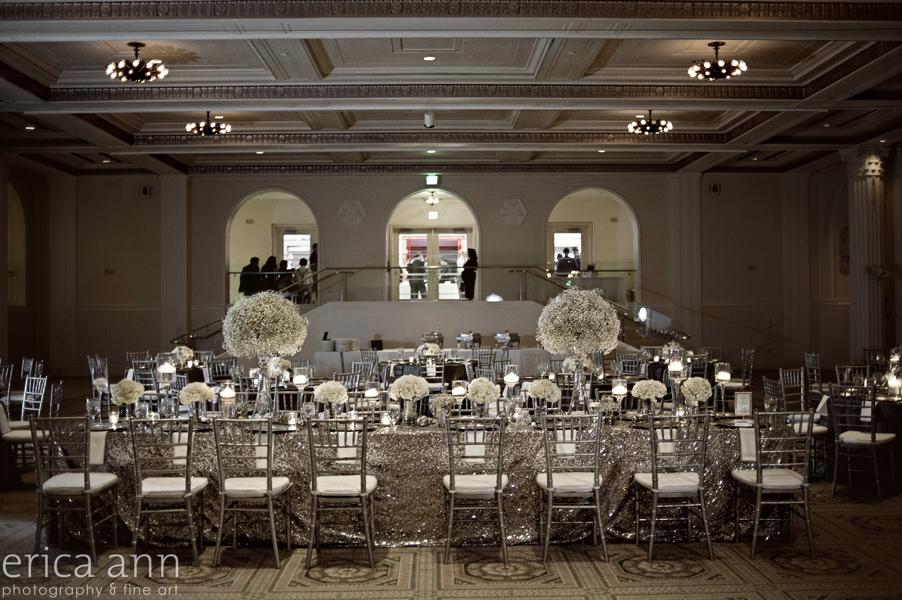 Downtown Portland Oregon Museum Wedding Photographer Reception