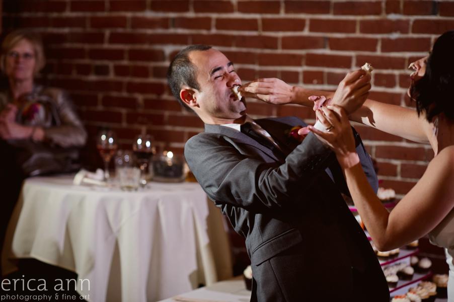 Downtown Portland Bridgeport Brew Wedding Reception Photography