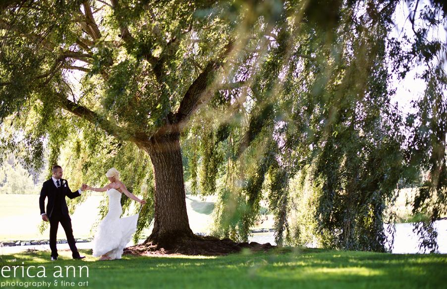 Langdon Farms Wedding Photos First Look