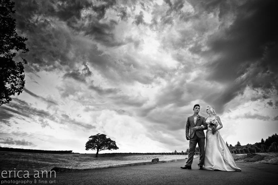 Stoller Vineyard Wedding Rainy Day Wedding