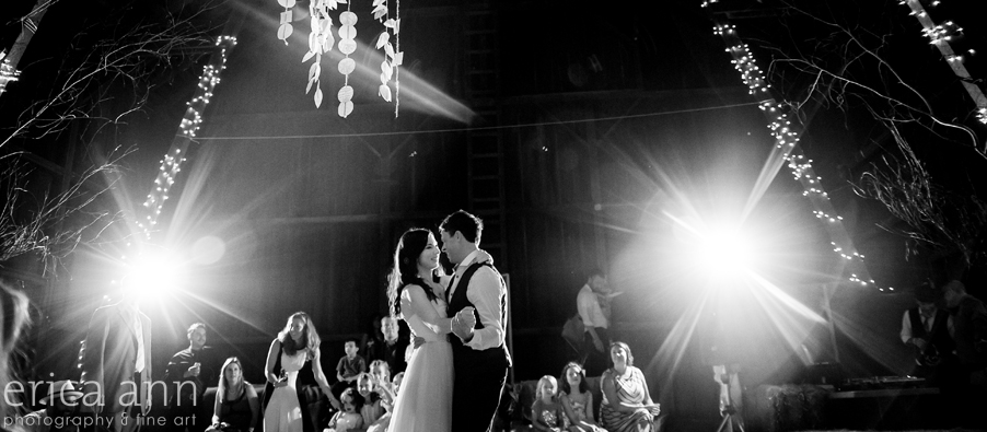 Long Farm Barn Wedding Photographers first dance