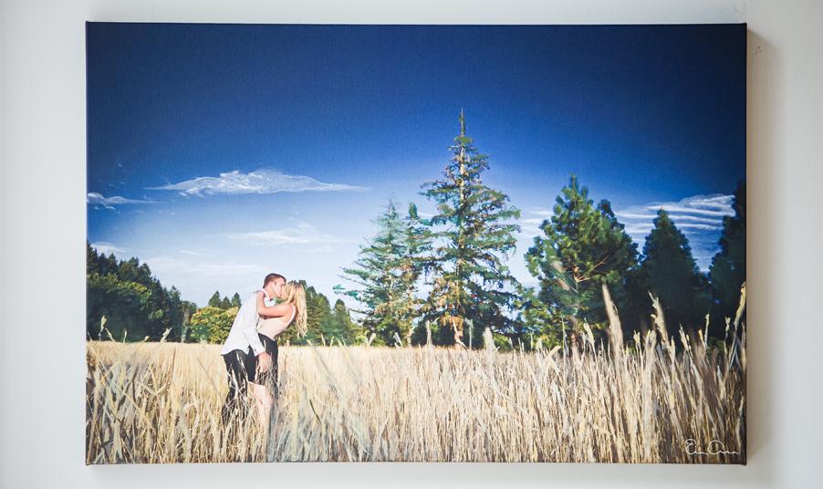 fine art engagement photography mixed media wedding art