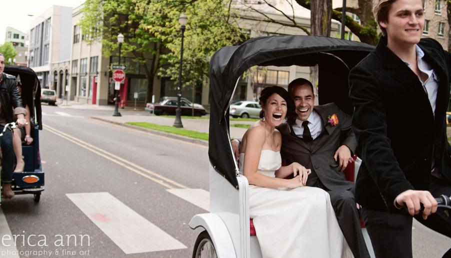 Hilarious Fun wedding photographers