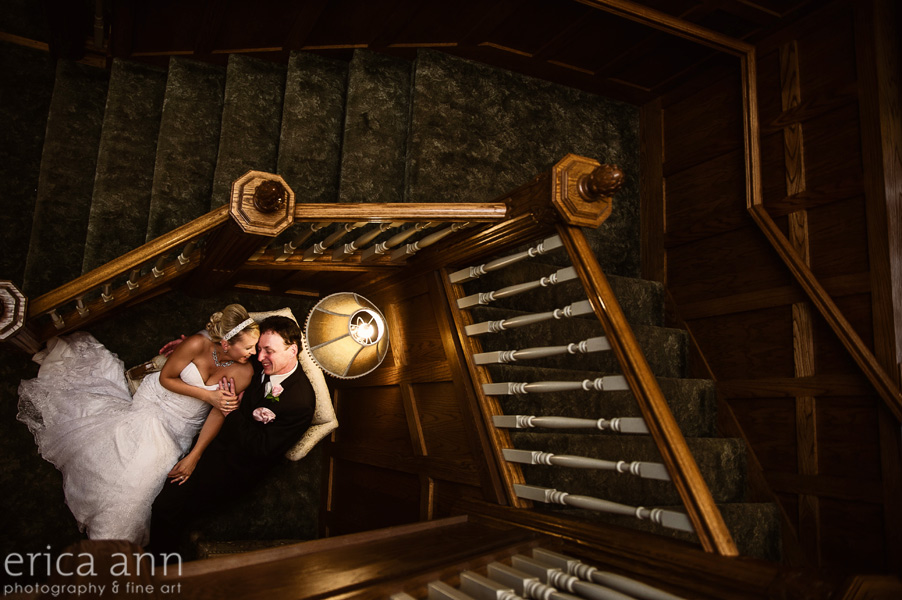 White House Wedding Staircase