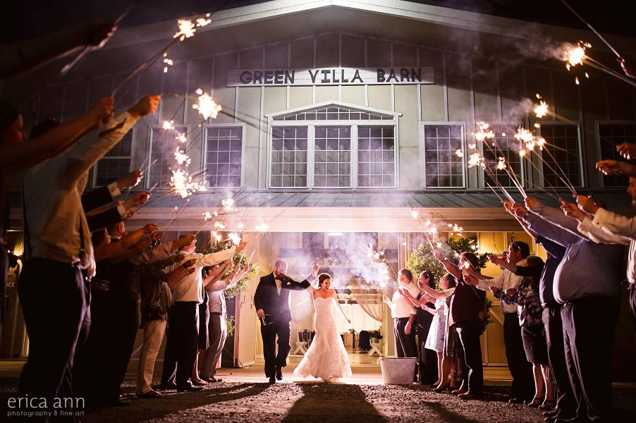 Sparkler Wedding Exit