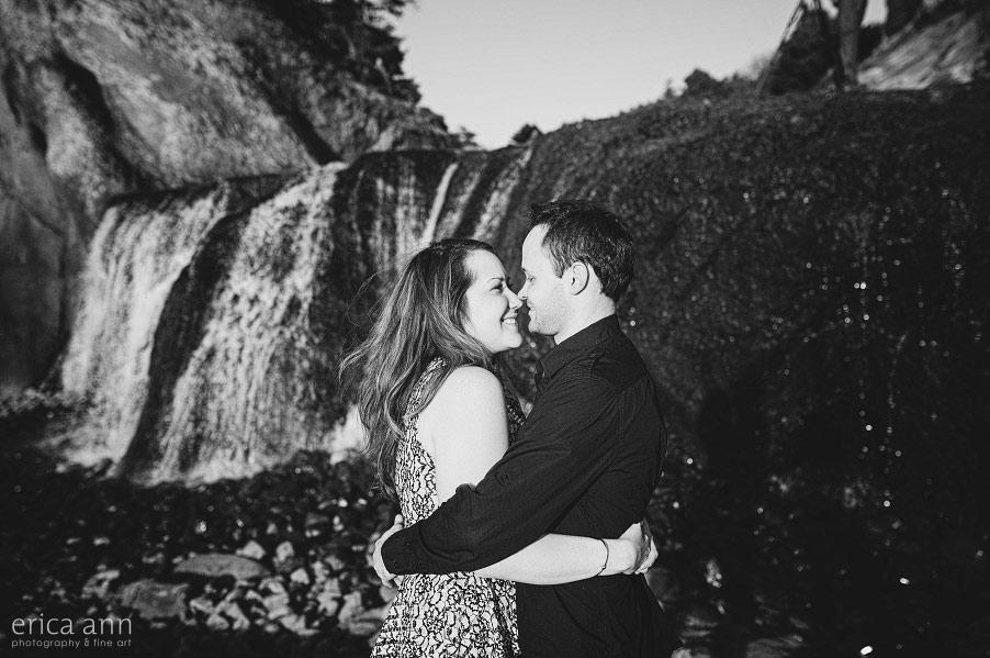 Hug Point Engagement Photography