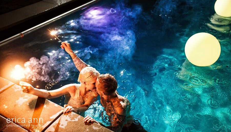 Pool Party Wedding