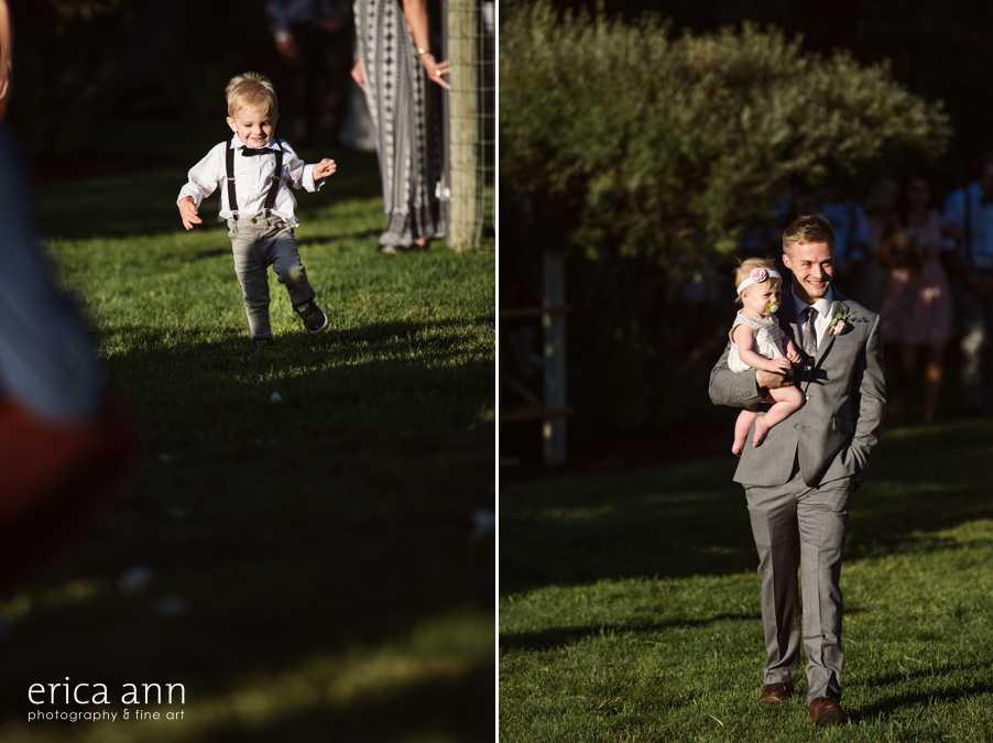 Crazy Backyard Wedding