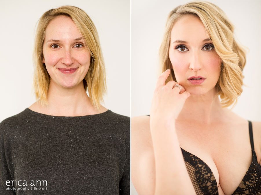 before and after boudoir
