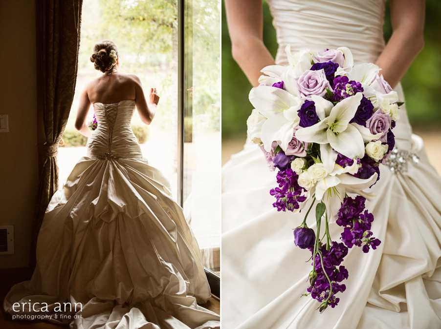 Ponzi Winery Wedding Bouquet