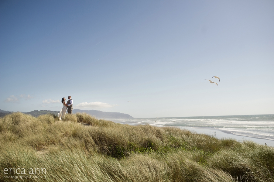 Pacific City Oregon Coast Wedding