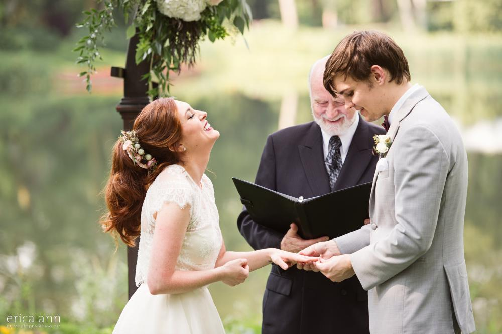Bridal Veil Lakes Wedding Ceremony