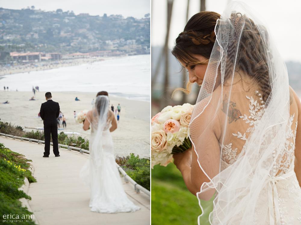 California beach wedding