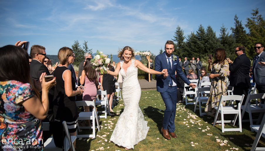 Skamania Lodge Wedding Ceremony