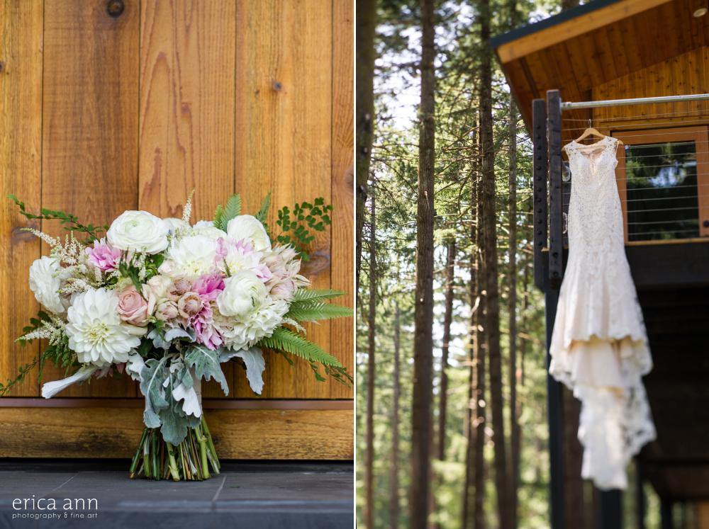 Skamania Lodge Wedding Flowers