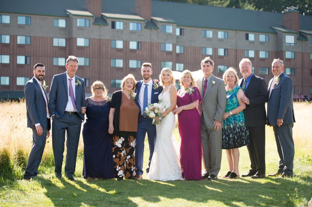 Skamania Lodge Wedding Family