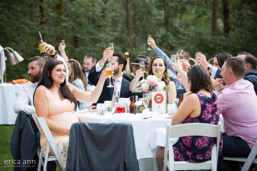Skamania Lodge Wedding Reception