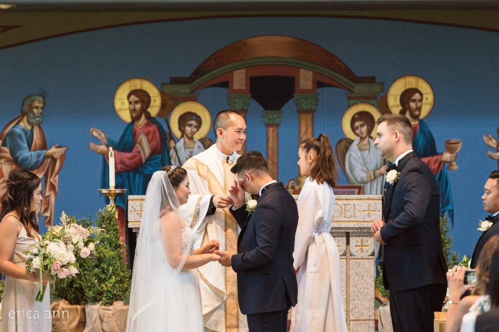 Saint Joseph Catholic Church Wedding