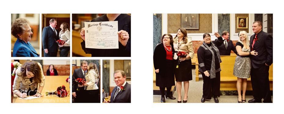 Portland Courthouse Wedding Album