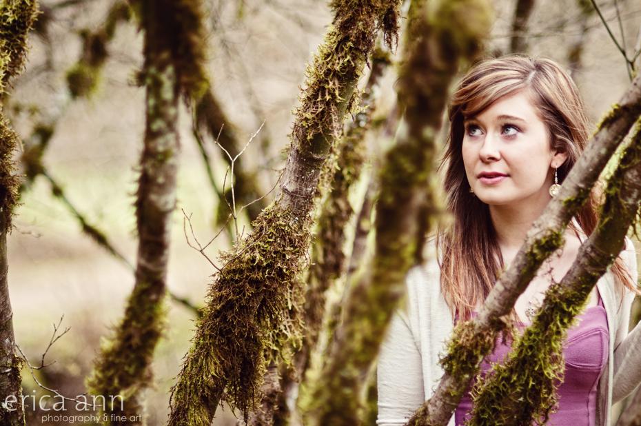 Oregon High School Senior - Silver Falls Portraits
