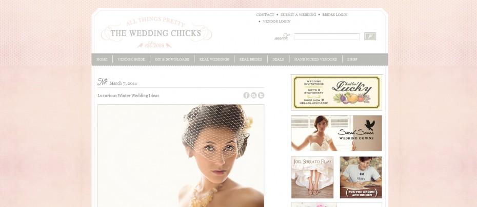Wedding Chicks Winter Wedding Feature