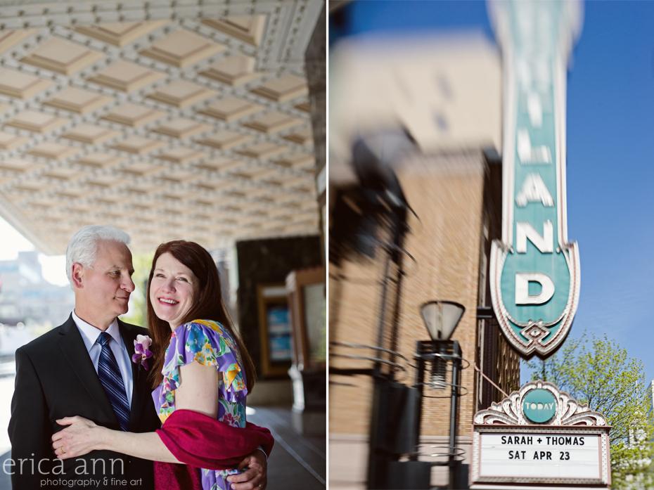 Heathman Hotel Portland Wedding Photographer