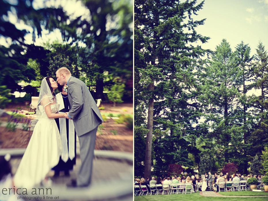 Backyard June Wedding Newberg OR Wedding Photographer