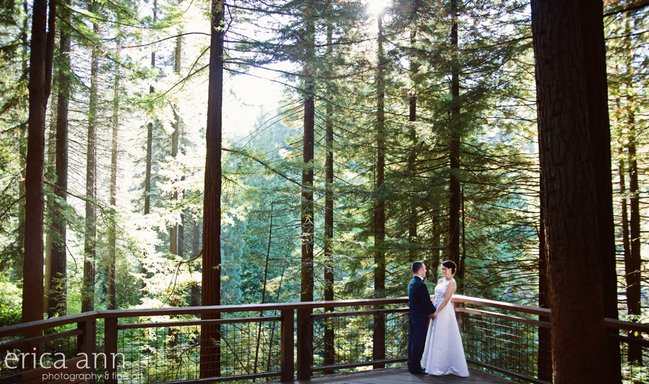 Hoyt Arboretum Wedding Acadian Ballroom Reception Portland Oregon Wedding