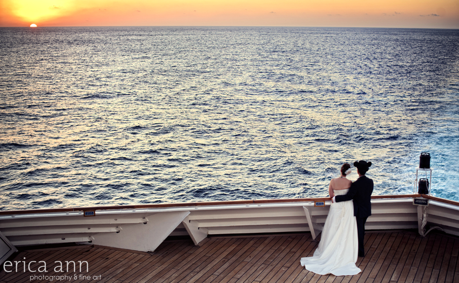 Jennifer and Derrick - Disney Wonder Cruise ship Wedding