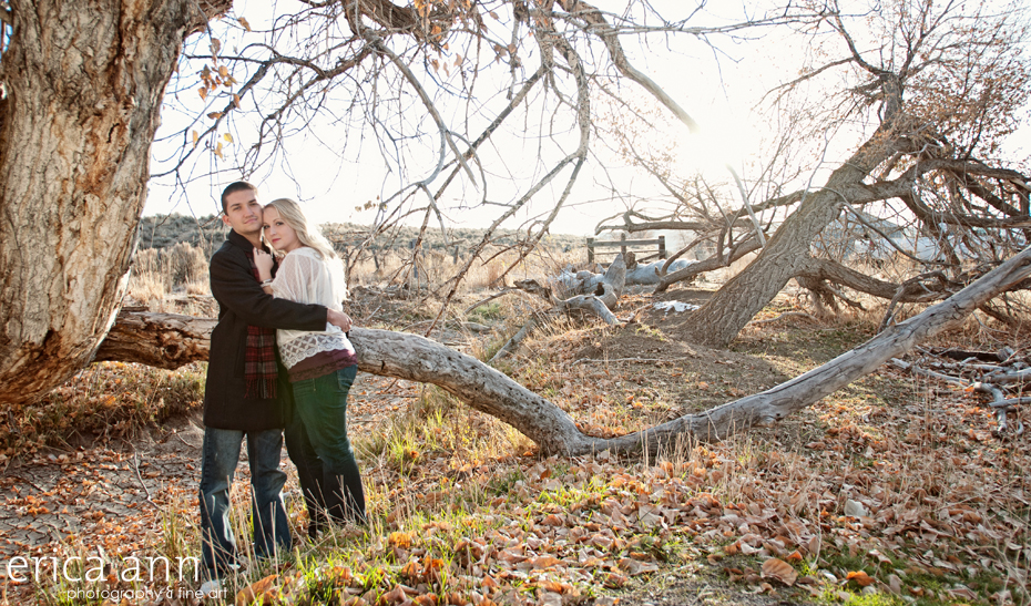 Southern Idaho Desert Engagement Session by Erica Ann Photography
