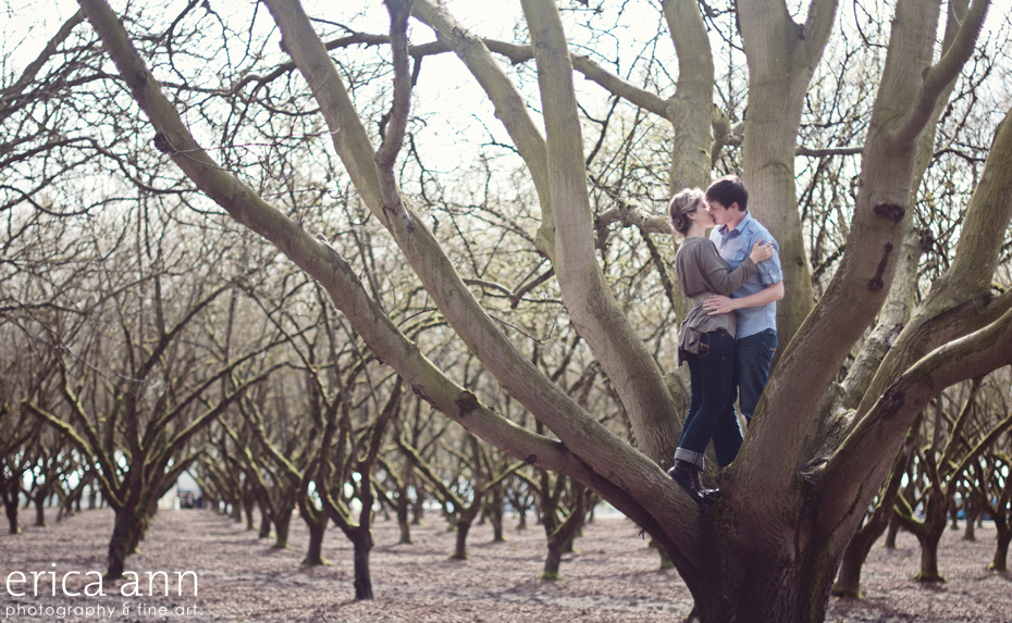 Willamette Valley Engagement Photography