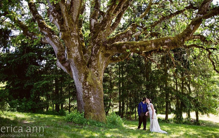 Silverton, Oregon DIY vintage wedding