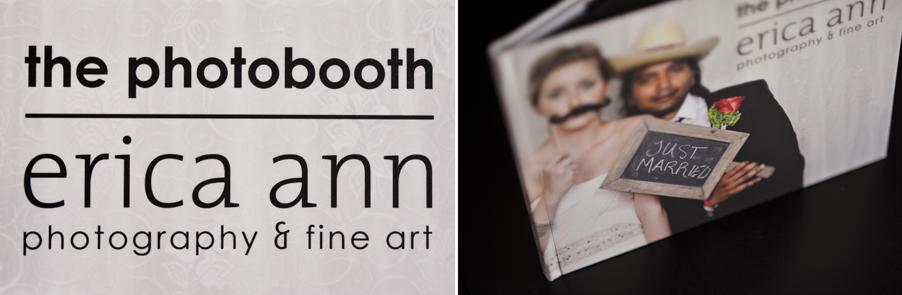 Wedding Photobooth Book Erica Ann Photography