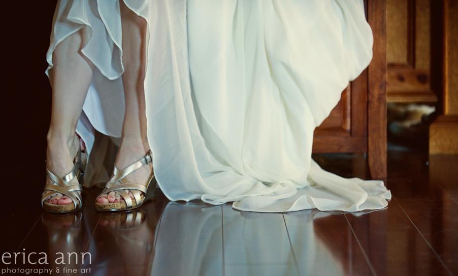 Backyard Hawaiian Wedding Photography  Shoes