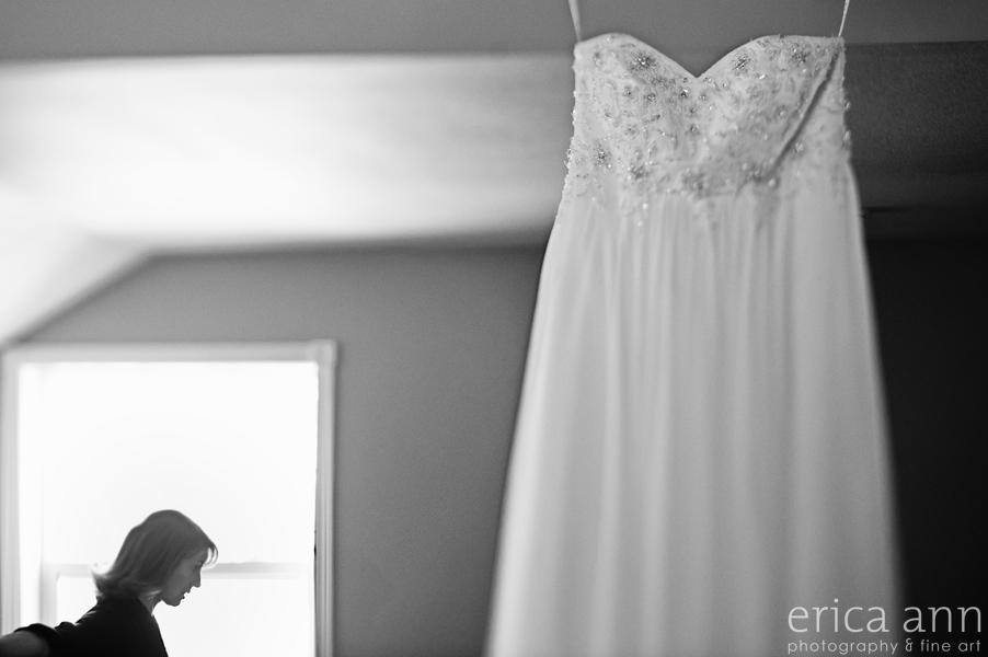 Backyard Hawaiian Wedding Photography  Dress