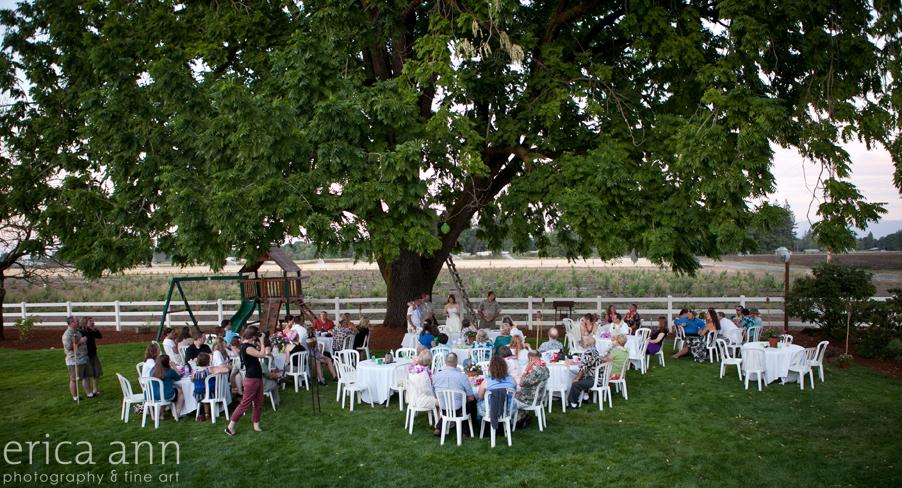 Backyard Hawaiian Wedding Photography Reception
