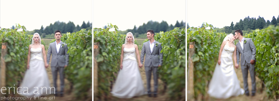 Stoller Vineyard Wedding Rainy Day Wedding Vineyard