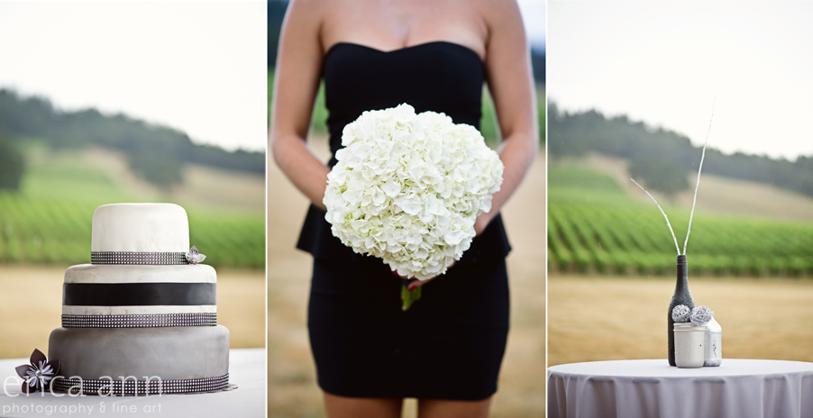 Stoller Vineyard Wedding Rainy Day Wedding