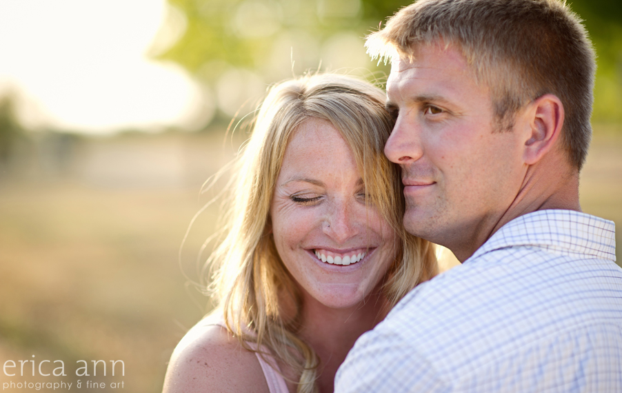 Newberg Golden Hour Engagement Session