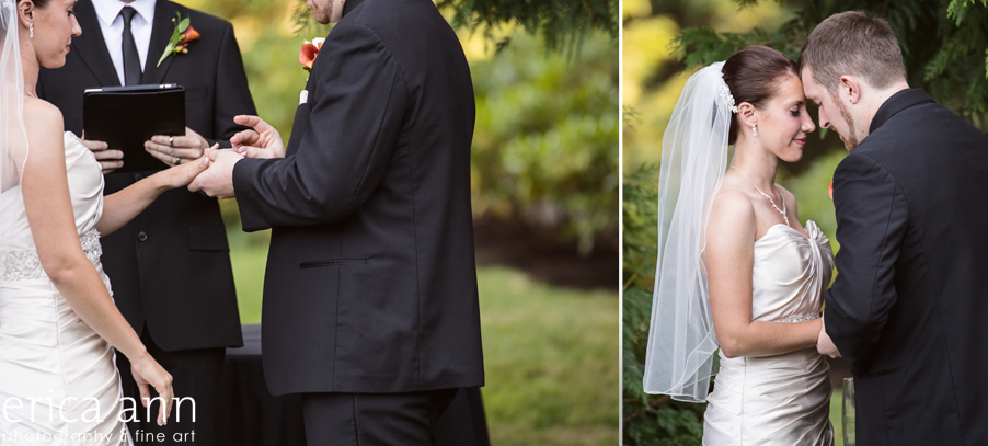 The Forestry Center Wedding Photos Ceremony