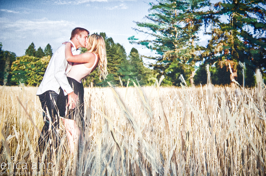 fine art engagement photography mixed media wedding art