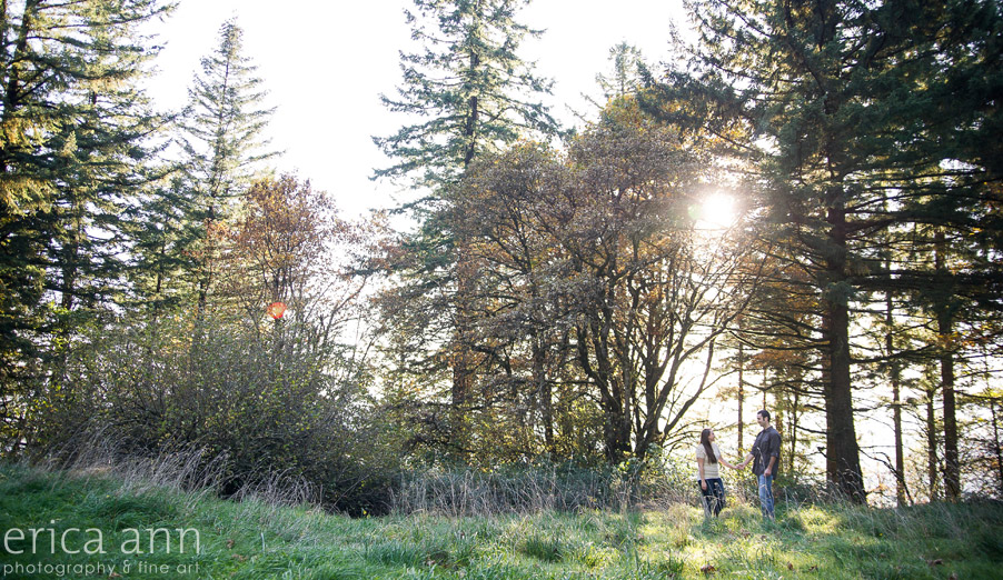 Bald Peak Engagement Photography trees