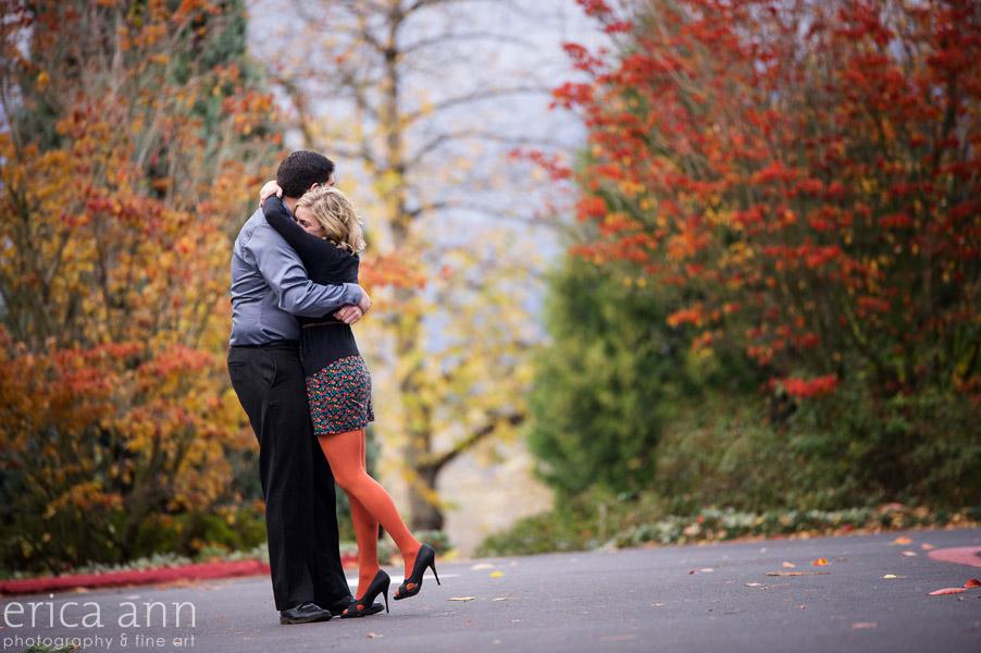 Autumn Engagement Session Portland Oregon Photographer