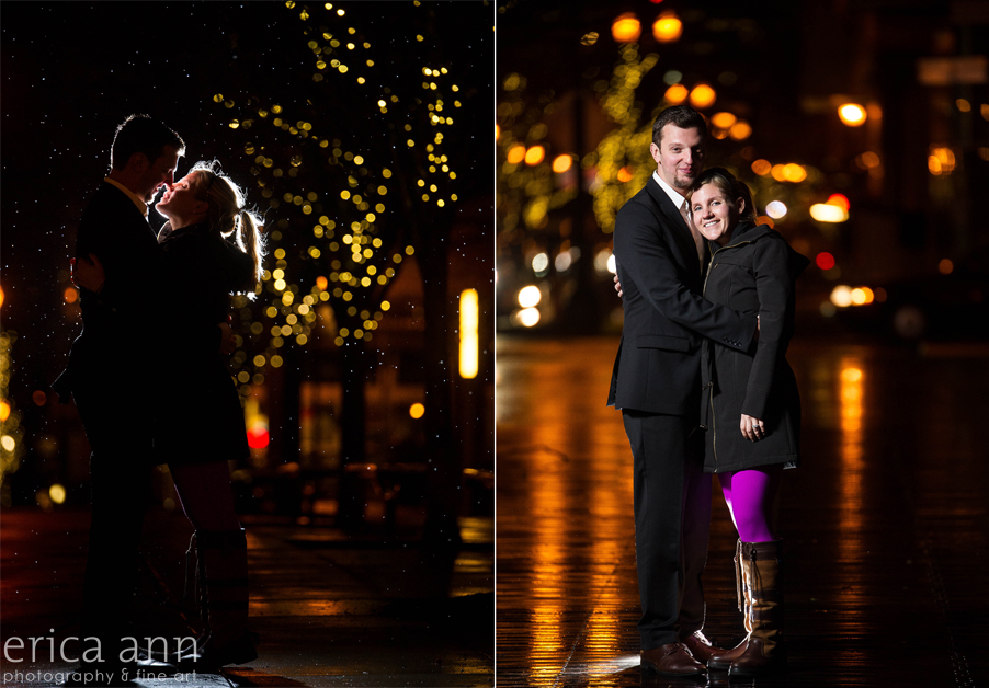 Portland Surprise Engagement Proposal night